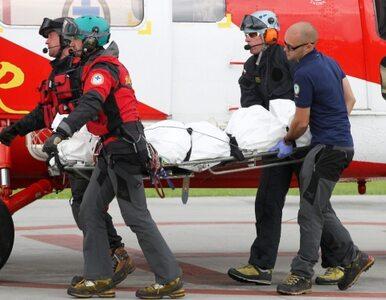 Śmierć w Tatrach. Turysta spadł w przepaść