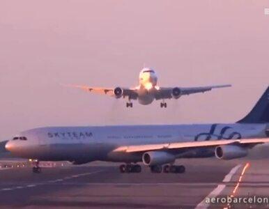 Blisko katastrofy na lotnisku. Samolot wymusił pierszeństwo