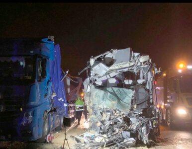 Tragiczny wypadek na A1. Zderzenie autobusu i trzech ciężarówek, jedna...