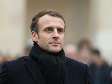 """Macron zabrał głos po protestach """"żółtych kamizelek"""". """"We Francji panuje..."""