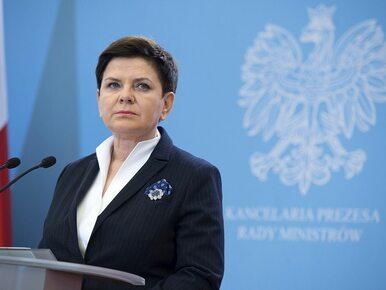 Beata Szydło ws. polityki migracyjnej UE: Chodzi o pomoc ludziom, a nie...