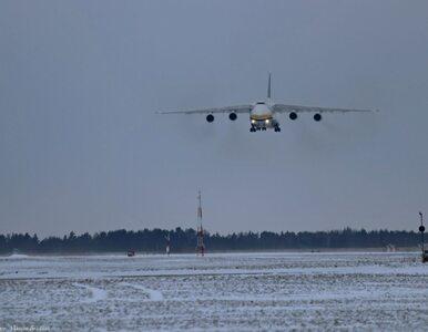 W Gdyni wylądował samolot-gigant – Antonow-124 Rusłan