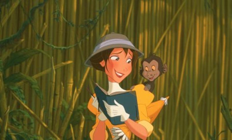 "Jak nazywa się ta bohaterka filmu ""Tarzan""?"