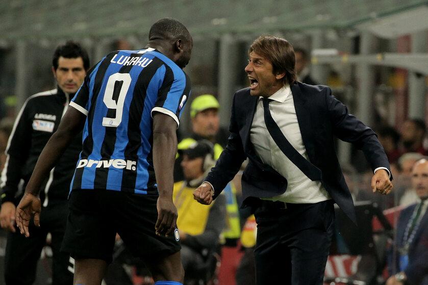 Romelu Lukaku i Antonio Conte