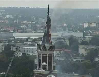 Spłonęła wieża kościoła. Straty - 4 mln zł