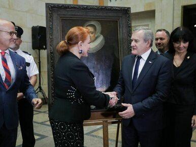 """""""Portret damy"""" po ponad 70 latach wrócił do Polski. Został zrabowany w..."""