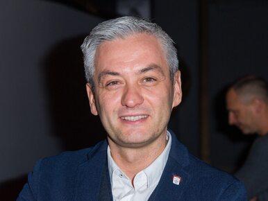 """Wpadka Biedronia na konwencji w Kielcach. Polityk mówił o """"budowaniu..."""
