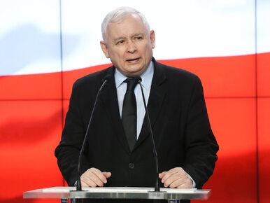 NA ŻYWO: Pilna konferencja prezesa PiS Jarosława Kaczyńskiego