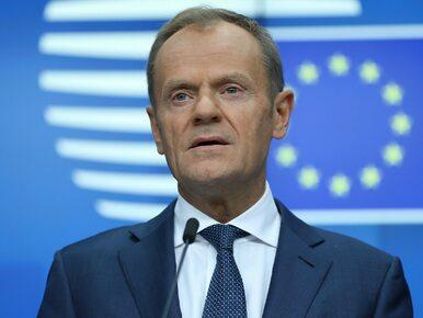 Zniknęła tablica z nazwiskiem Tuska. Szef Rady Europejskiej i MSZ komentują
