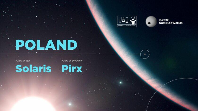 Nazwa dla polskiej gwiazdy i planety