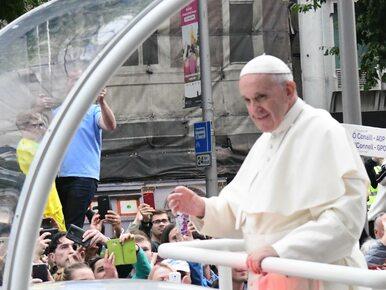 Papież Franciszek w Irlandii: Błagam Boga o przebaczenie za grzechy...