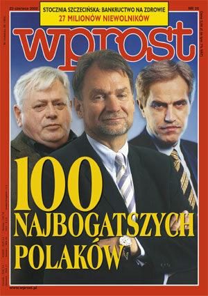 Okładka tygodnika Wprost nr 25/2002 (1021)