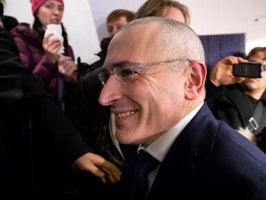 Chodorkowski: Putin prowadzi Rosję do upadku