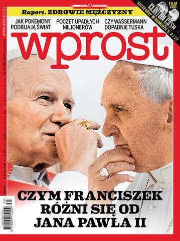 Okładka tygodnika Wprost nr 30/2016 (1746)