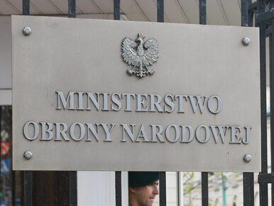MON wydało oświadczenie ws. nocnego wejścia do Centrum Kontrwywiadu NATO