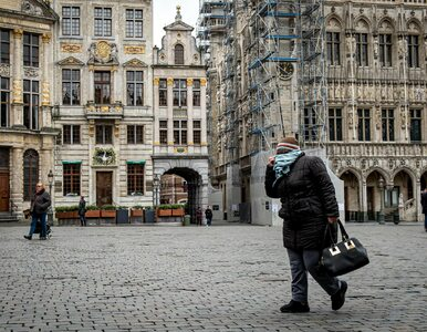 Gwałtowny wzrost zakażeń koronawirusem w Belgii. Podwoiła się liczba...