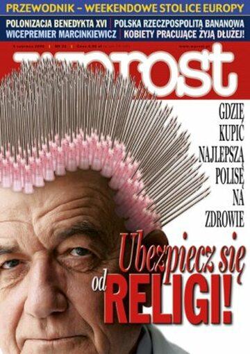 Okładka tygodnika Wprost nr 22/2006 (1225)