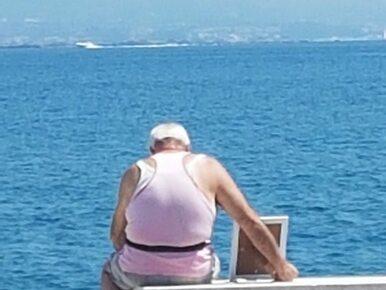 Wzruszające zdjęcie staruszka. Jego historia poruszyła internautów