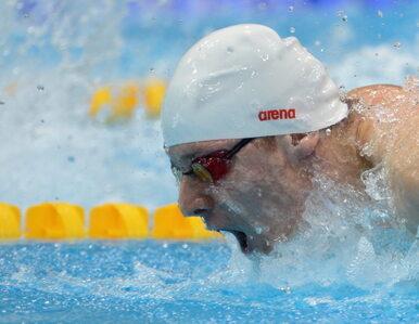 Londyn: Czerniak przegrał z Phelpsem ale w półfinale popłynie