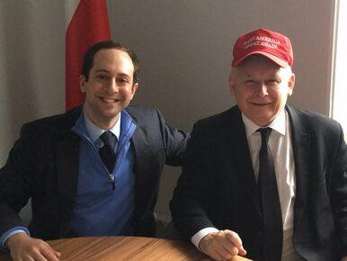 Prezes PiS wspiera Donalda Trumpa? To zdjęcie wiele wyjaśnia