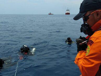 Katastrofa samolotu w Indonezji. Wyłowiono pierwsze ciała