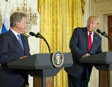 """Trump zaczął improwizować i pomylił dziennikarki. """"Mamy w kraju dużo..."""