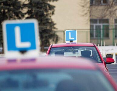Egzaminy na prawo jazdy: resort Nowaka zmienia zdanie