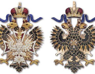 Order Orla Białego w rosyjskiej wersji na paryskim muzeum