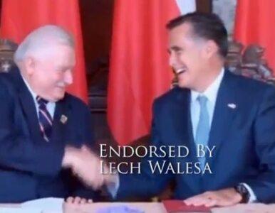 Romney walczy o głosy Wałęsą i Janem Pawłem II