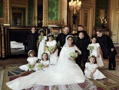 Lubomirski wykonał portrety ślubne Harry'ego i Meghan. Teraz komentuje...