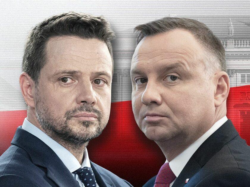 Rafał Trzaskowski i Andrzej Duda