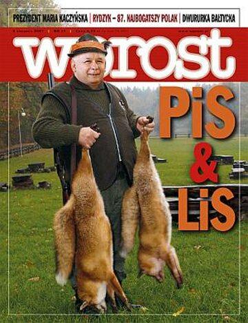 Okładka tygodnika Wprost nr 31/2007 (1284)