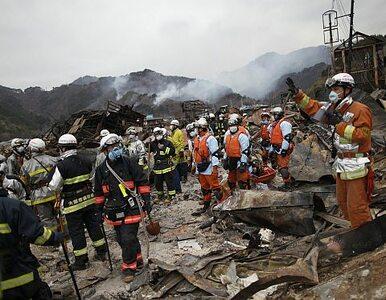 Japonia: spod gruzów wyciągnięto dwoje żywych ludzi