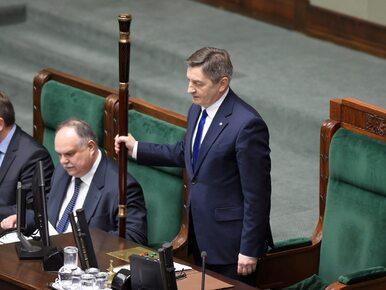 """Marek Kuchciński ucina spekulacje. """"Do 13 września nie jest planowane..."""