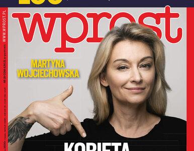 """Martyna Wojciechowska – kobieta w męskim świecie. Co w nowym """"Wprost""""?"""