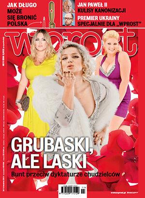 Okładka tygodnika Wprost nr 11/2014 (1619)