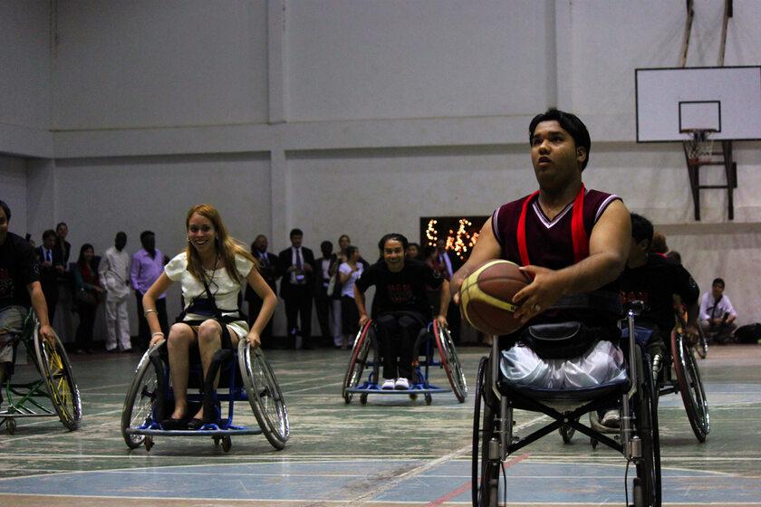 Koszykówka na wózkach