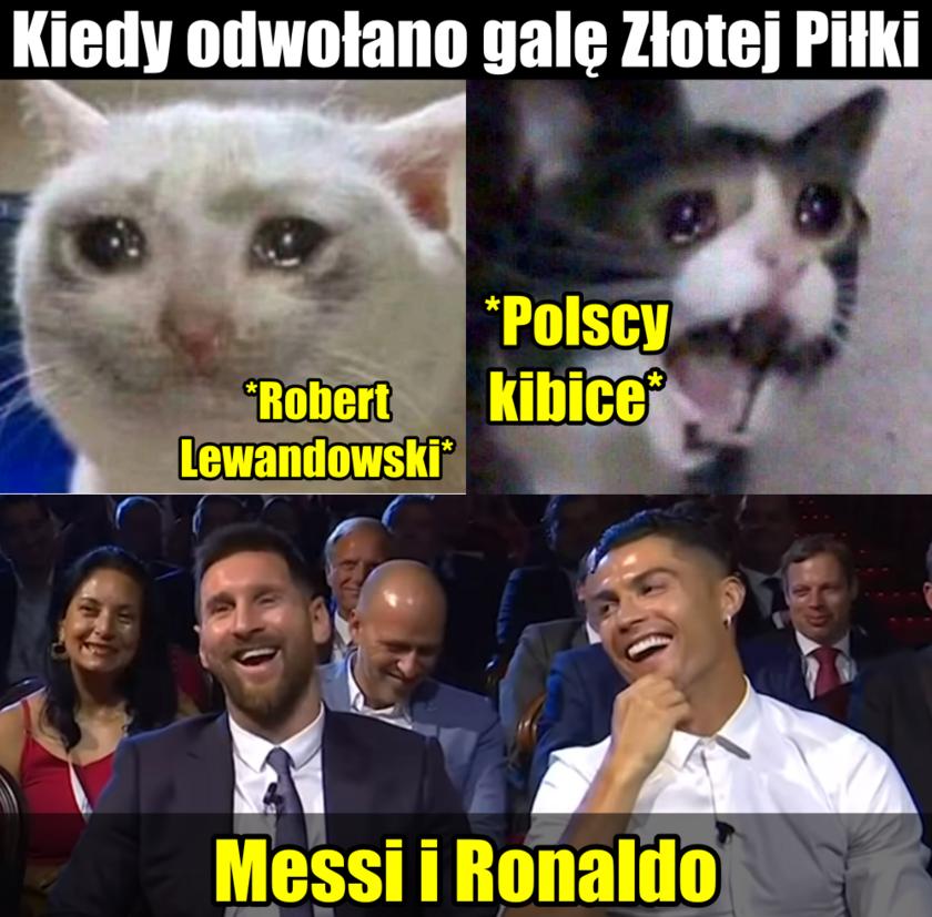 Mem po odwołaniu Złotej Piłki