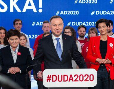 Trudny początek kampanii Andrzeja Dudy