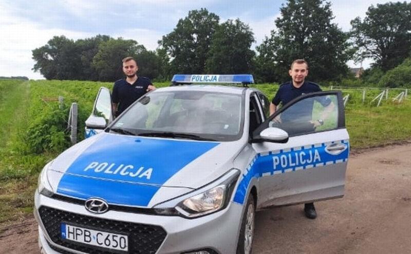 Policjanci z Trzebnicy
