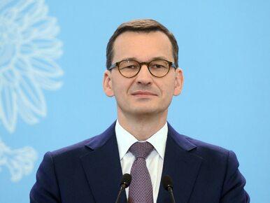 Premier Morawiecki: Przyjmowanie uchodźców musi odbywać się w sposób...