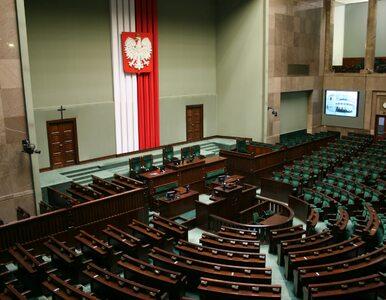 Sejm nie zgodził się na odrzucenie projektu wprowadzającego program 500+