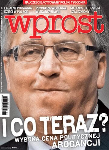 Okładka tygodnika Wprost nr 20/2015 (1679)
