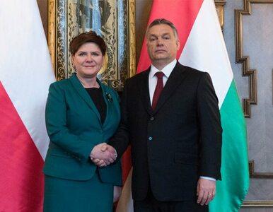 Premier Szydło spotkała się z Orbanem