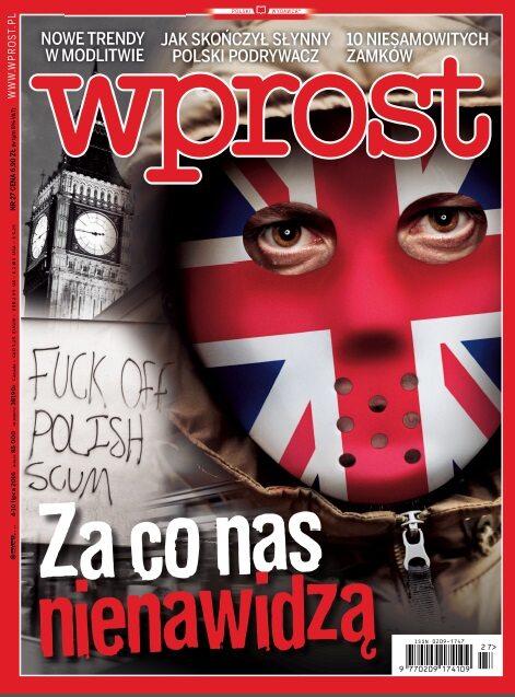 Okładka tygodnika Wprost nr 27/2016 (1743)