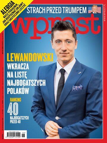 Okładka tygodnika Wprost nr 46/2016 (1762)