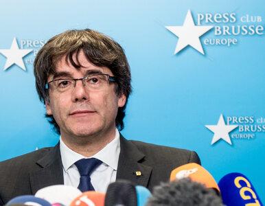 Carles Puigdemont oddał się w ręce belgijskiej policji