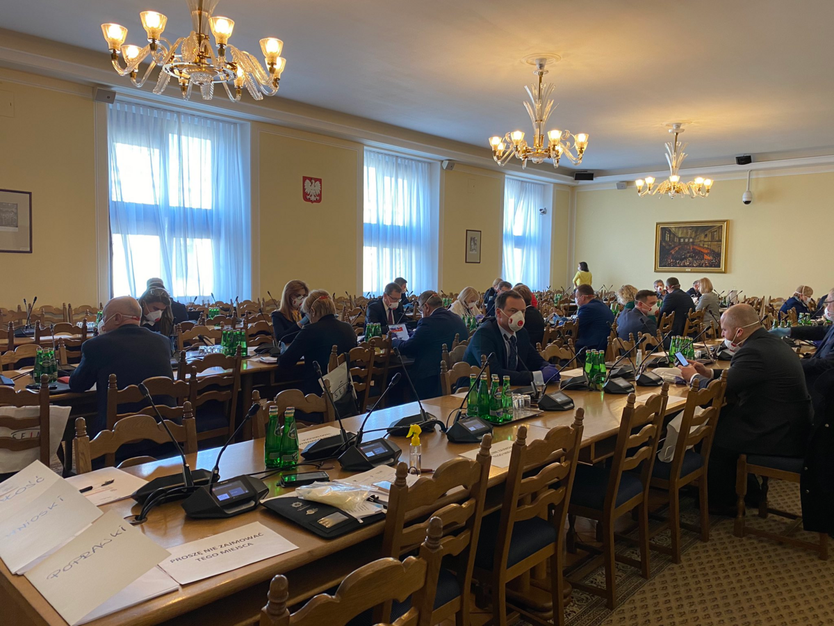 Posiedzenie Sejmu RP