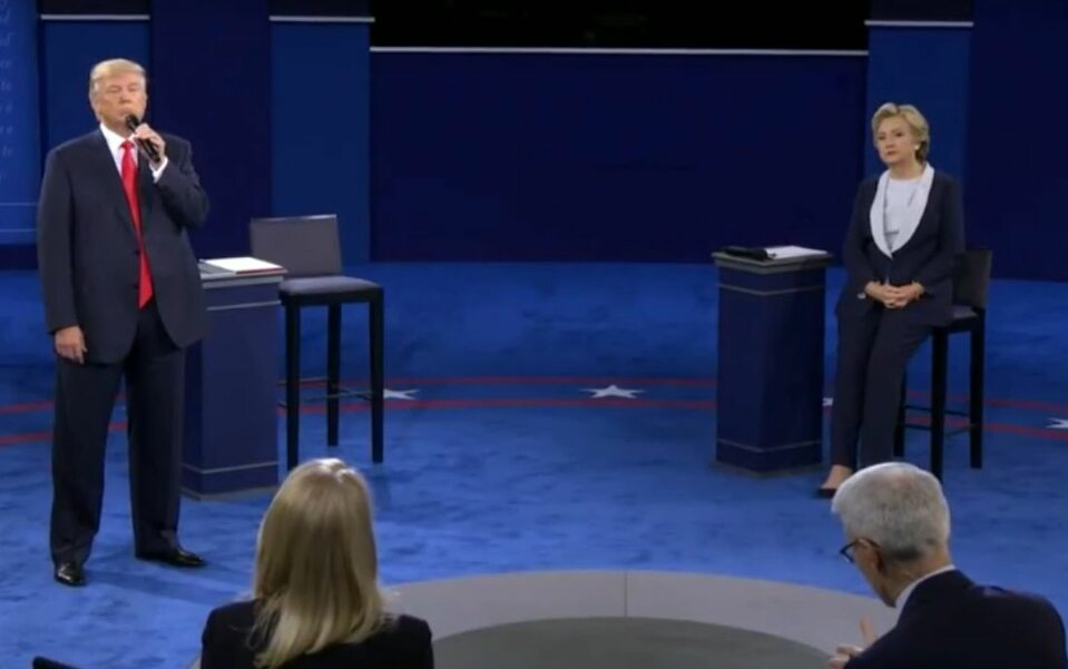 Druga debata prezydencka Donalda Trumpa i Hillary Clinton