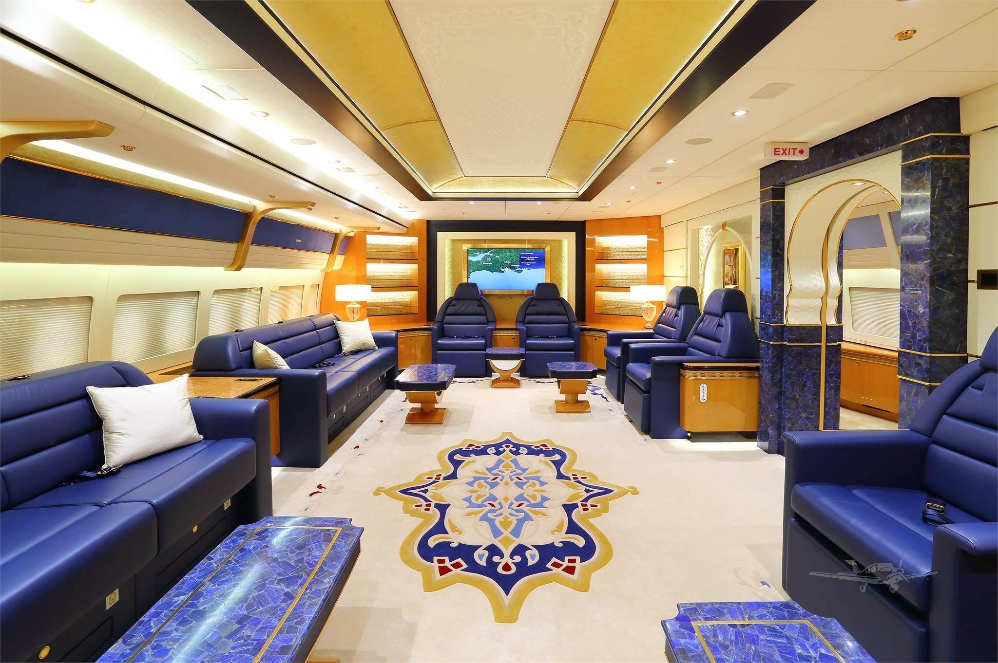 Samolot katarskiej rodziny królewskiej